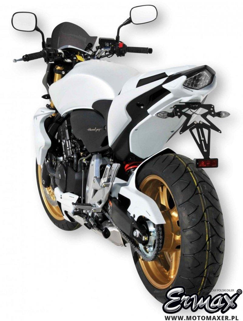 Mocowanie rejestracji + wypełnienie zadupka ERMAX UNDERTAIL Honda CB600 HORNET 2011 - 2013