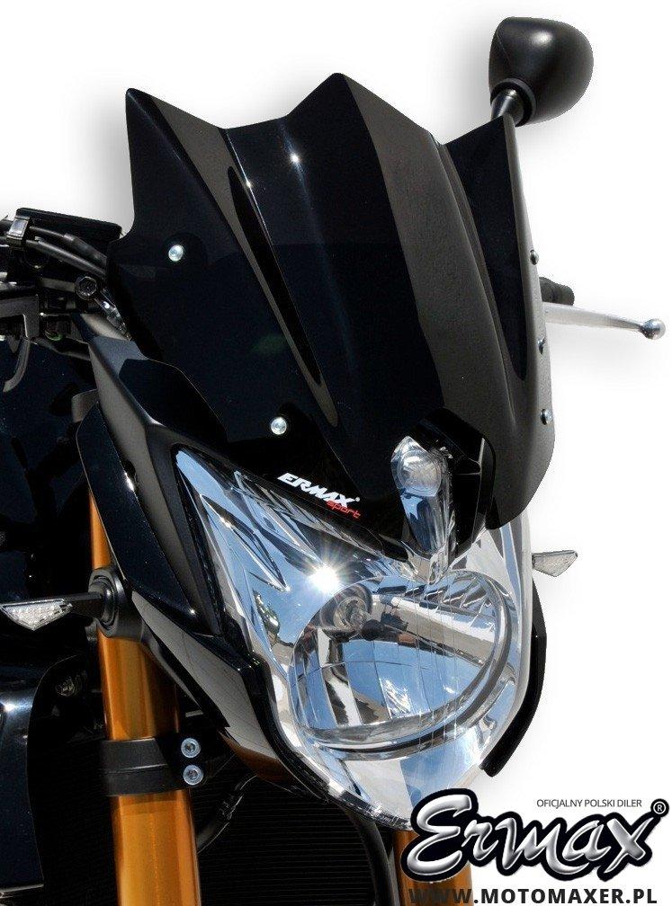 Szyba ERMAX NOSE SPORT 24 cm Yamaha FZ8 N NAKED 2010 - 2017