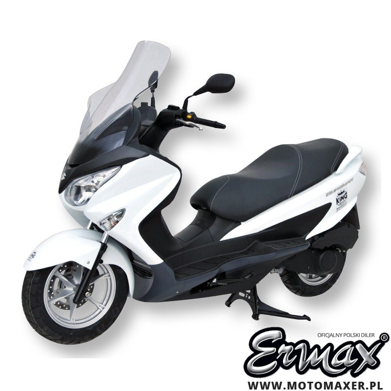 Szyba ERMAX WS SCOOTER HIGH HP + 7 cm