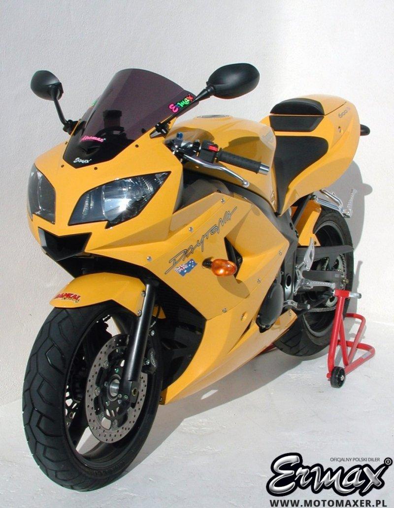 Szyba ERMAX AEROMAX Triumph Daytona 600 / 650 2003 - 2007