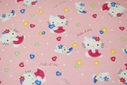 Flanela Hello Kitty KUPON 87x108 cm