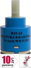 ARMATURA KRAKÓW - Głowica - Regulator ceramiczny R35 WYSOKI / fi35mm 884-018-86