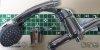 ARMATURA KRAKÓW - BATERIA natryskowa ścienna z natryskiem MAGNETYT z wężem i słuchawką 5516-510-00