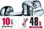 ARMATURA KRAKÓW - Albit Bateria jednouchwytowa, wannowa 4604-010-00