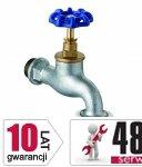 ARMATURA KRAKÓW - Zawór wodny, wypływowy czerpalny 3/4 ze złączką węża 190-034-07