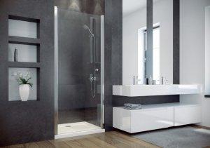 BESCO - Drzwi prysznicowe pojedyncze otwierane SINCO 195