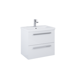 ELITA Szafka KWADRO PLUS 60 2S WHITE 166712
