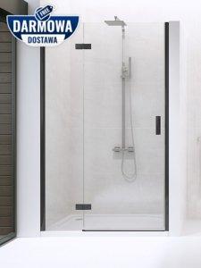 NEW TRENDY - Drzwi wnękowe New Renoma BLACK 100x195  D-0197A  LEWE