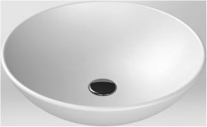 CeraStyle Umywalka ceramiczna ZERO 46cm BIAŁY MAT