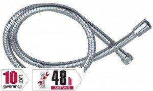 ARMATURA KRAKÓW - Wąż natryskowy 140cm , stożkowy do natrysku łazienkowego 843-114-00