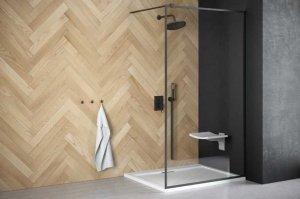 BESCO - Kabina ścianka prysznicowa WALK-IN TOCA 120 cm