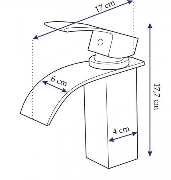 REA - Bateria umywalkowa FALCON 18 NISKA