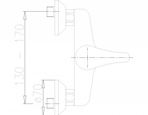 ARMATURA KRAKÓW - Nefryt natryskowa 506-510-00