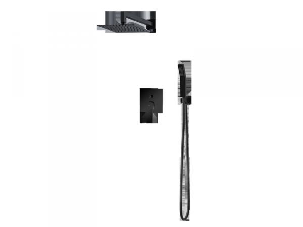 VEDO - zestaw natryskowy SETTE NERO podtynkowy VBS7223CZ/25
