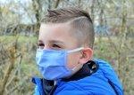 xBREATHE BLUE Maska Wielorazowa Premium Filtr HEPA 2x