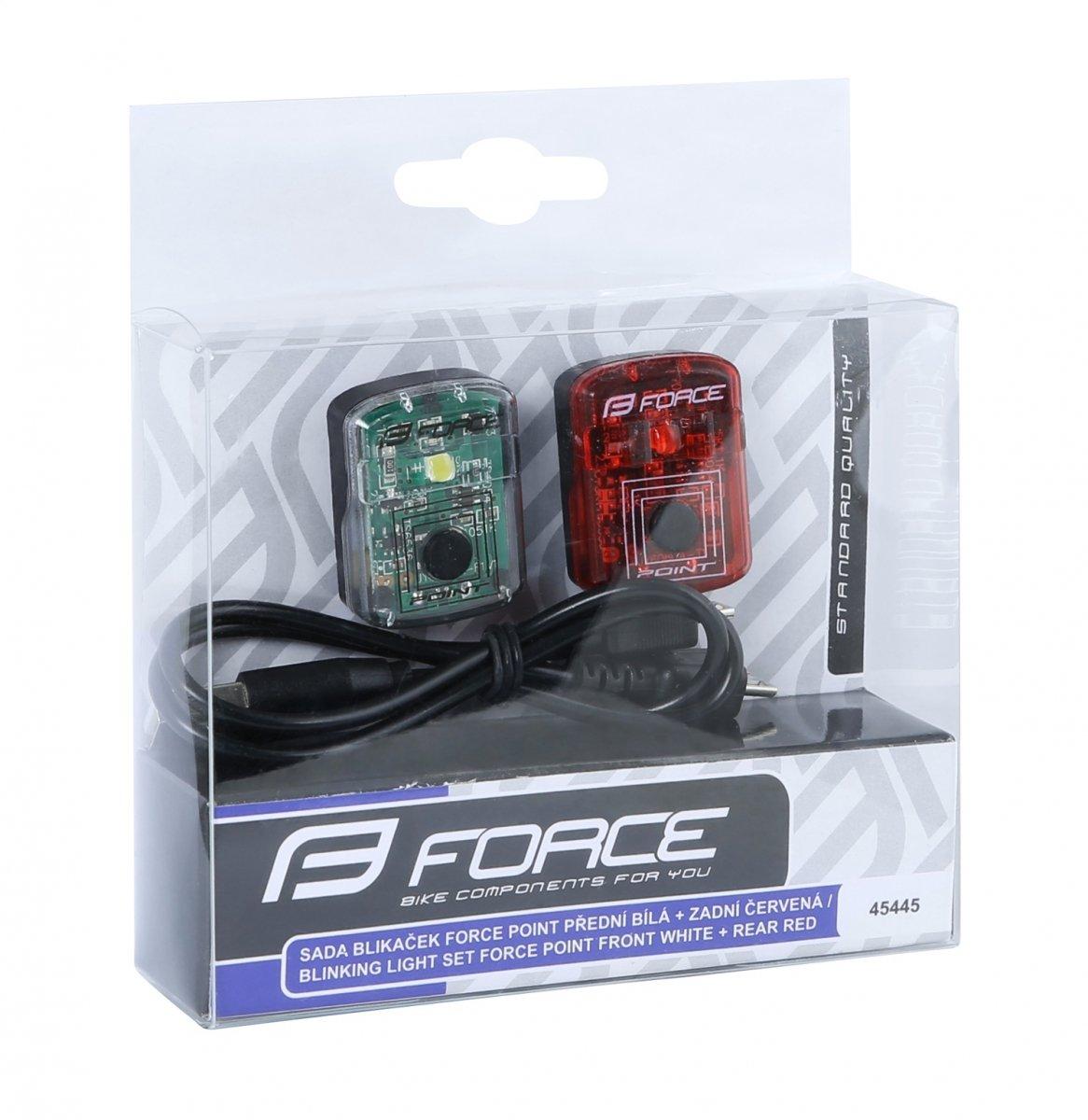 Force Point Zestaw Lampek Usb
