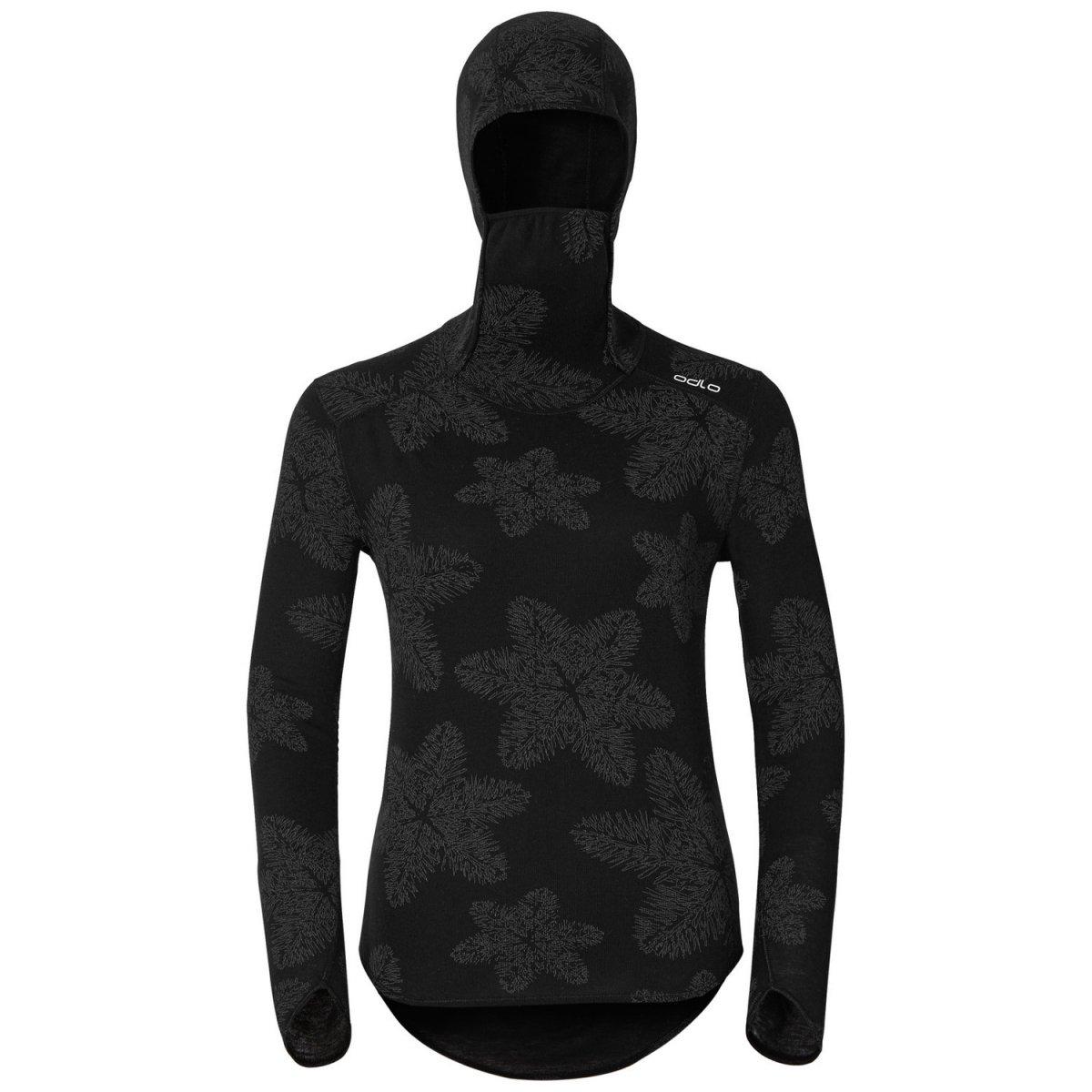 30022a83d2f15d ODLO ORIGINALS WARM koszulka termoaktywna damska z kominiarką ...