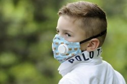 xBREATHE Foxes Maska Antysmogowa dla dziecka