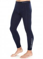 BRUBECK WOOL LE11120 spodnie termoaktywne męskie