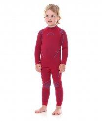 BRUBECK THERMO KIDS Dziewczęca bluza termoaktywna