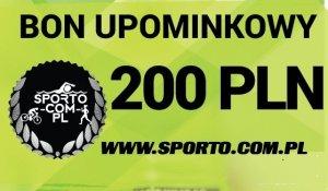 EKSKLUZYWNY BON UPOMINKOWY 200 PLN