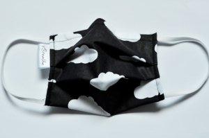 xBREATHE Cloud Black Maska z filrem Hepa 2x wielorazowa N95