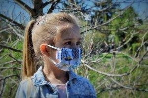xBREATHE FEATHERS Maska Wielorazowa Premium Filtr HEPA 2x
