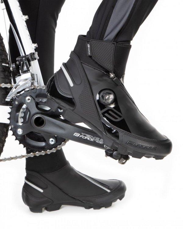 FORCE MTB GLACIER Buty rowerowe zimowe