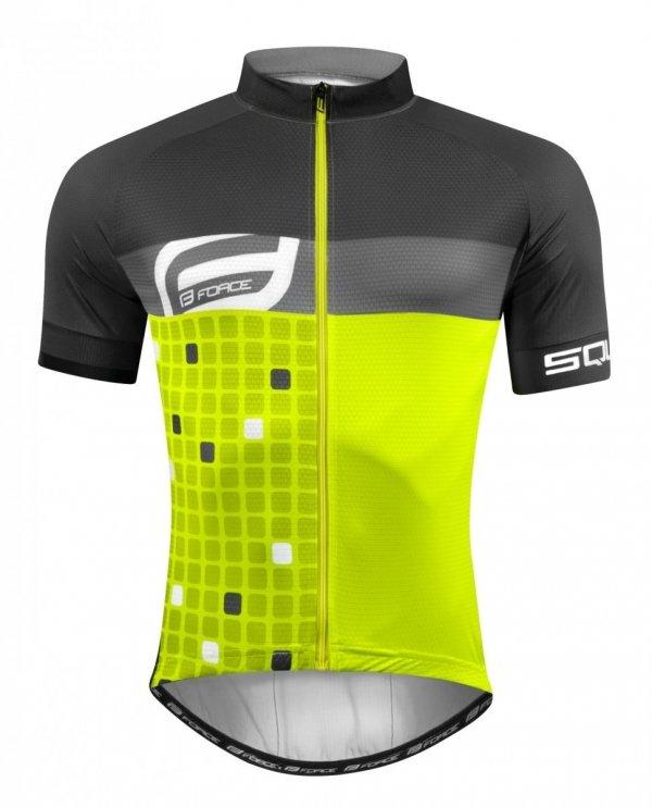 FORCE SQUARE koszulka rowerowa unisex