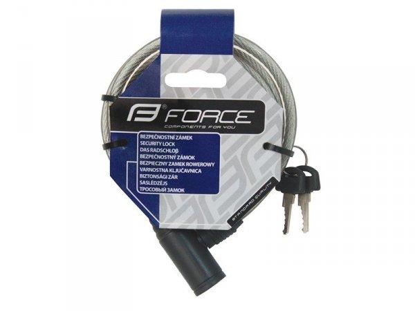 FORCE ECO zapięcie na klucz 120cm/8mm