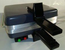 Gofrownica model 301.6 PROFI  z lampką kontrolną i łącznikiem - CZARNA - Tel: 22-5166843
