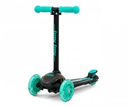 Milly Mally Scooter Zapp Black Mint