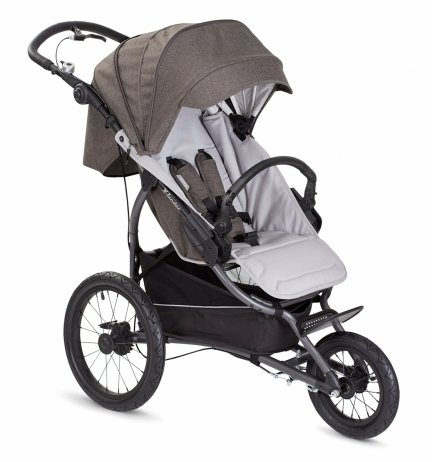 X Run Evening Grey| X-Lander Jogger - Buggy - Kombikinderwagen
