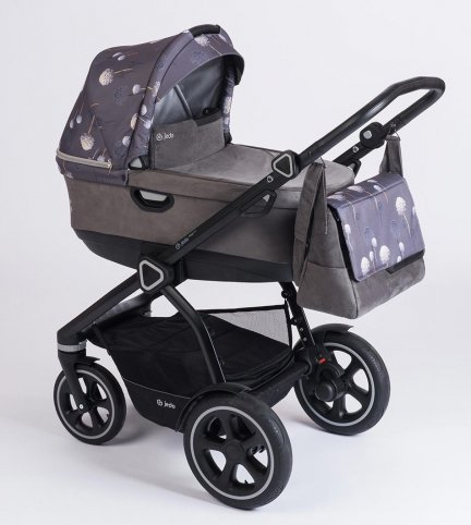 Jedo TRIM Nature| Limited Edition | Kombi Kinderwagen | Kollektion 2018 / Alu Gestell in Schwarz