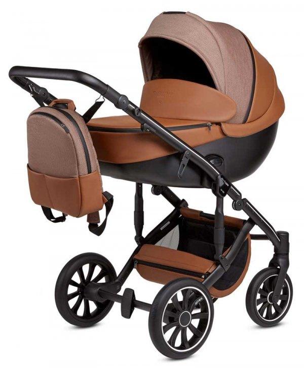 SPARSET 3in1 SET | ANEX m-Type | Verschiedene Farben | Kombi-Kinderwagen mit Adapter und Autoschale
