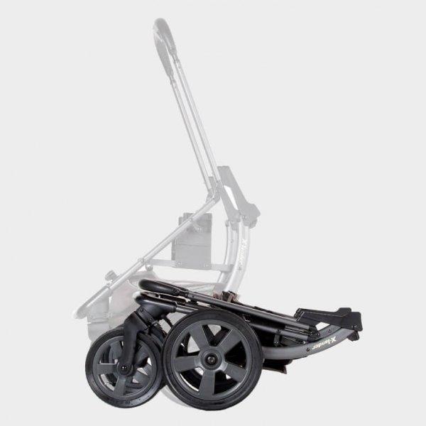 X-Move Lunar Black | Buggy/ Kombi Kinderwagen X-Lander | + X-Pad Sitzauflage GRATIS