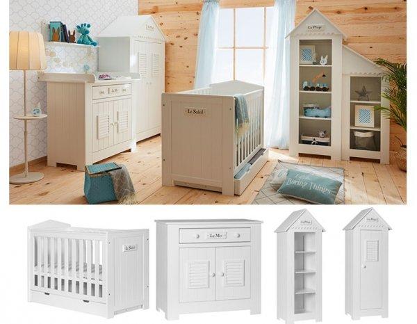Babyzimmer/Kinderzimmer LA MARE zum tollen Preis