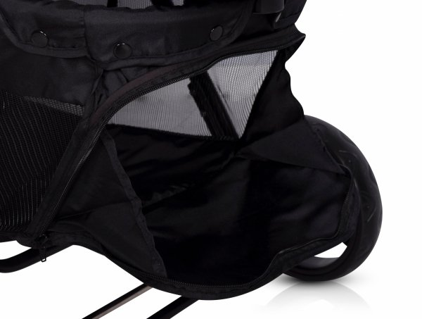 Zwillings-/ Geschwisterbuggy | Zwillingswagen TWIN FUSION | Anthracite/ Dunkelgrau