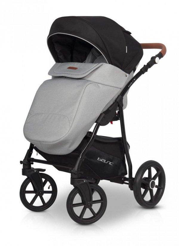 Classico BASIC | 2 in 1 mit Liegewanne und Sportwagen | oder 3 in 1 mit Autoschale | Kombi-Kinderwagen | Light Grey