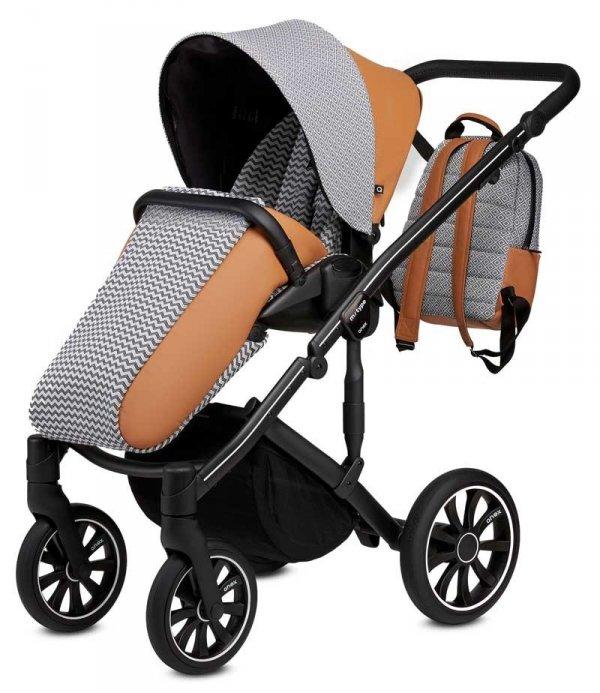 ANEX m-Type FOXY | Kombi-Kinderwagen 2 in 1 mit Babywanne und Sportwagen | oder 3 in 1 mit Autoschale