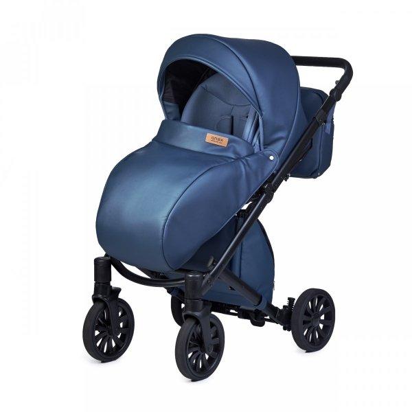 ANEX CROSS Sapphire | Kombi-Kinderwagen 2 in 1 mit Liegewanne und Sportwagen | oder 3 in 1 mit Autoschale