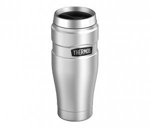 Kubek termiczny Thermos Travel King 470 ml (stalowy)