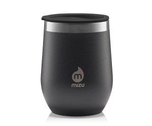 Tumbler MIZU WINE and Matero Yerba Mate 330 ml (czarny) black
