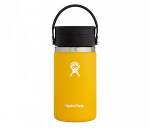 Kubek termiczny Hydro Flask 354 ml Coffee Wide Mouth Flex Sip (sunflower - żółty)