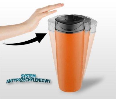 Kubek termiczny STILL 450 ml (pomarańczowy)