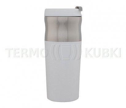 Kubek termiczny 450 ml MUSTANG (biały)