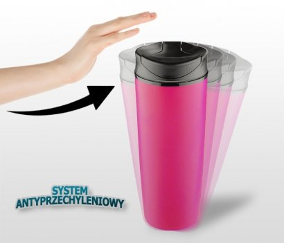 Kubek termiczny 450 ml STILL (różowy)