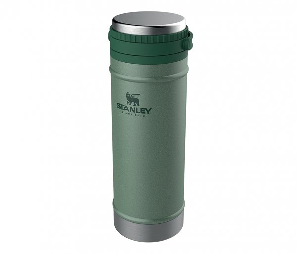 Kubek termiczny Stanley 470 ml CLASSIC TRAVEL MUG FRENCH PRESS zielony