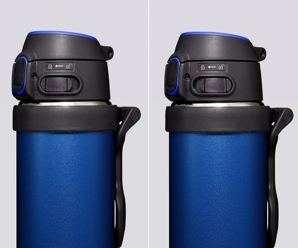 Kubek termiczny Zojirushi Flip-and-Go z ceramiczną powłoką 600 ml niebieski