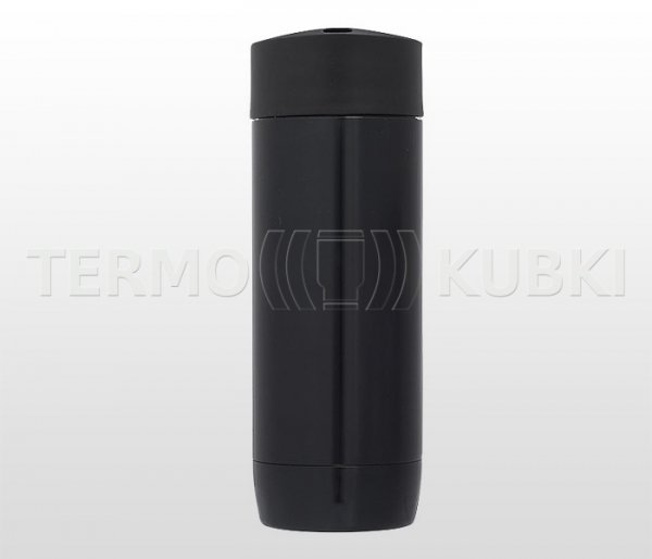 Kubek termos 400 ml LEADER (czarny)